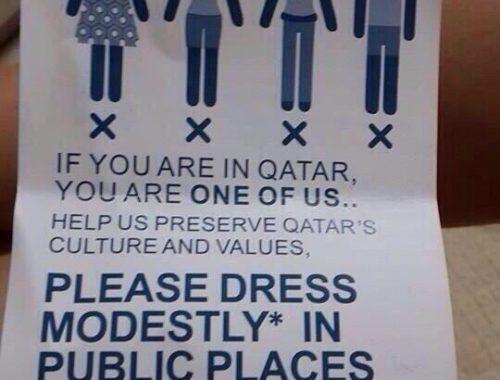 Qatar dress code guide