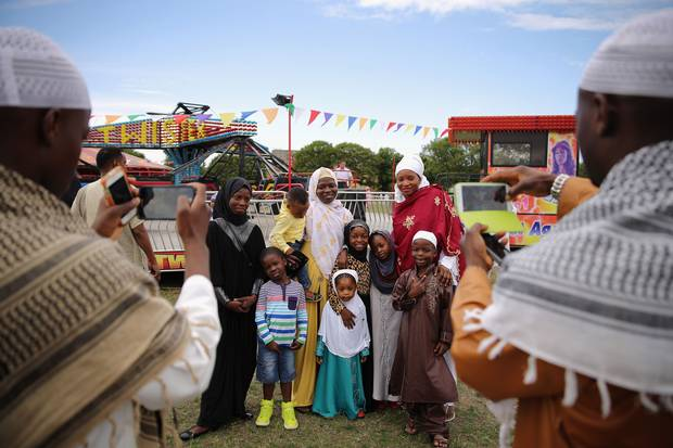 Eid Festive and fun day in Ealing Common